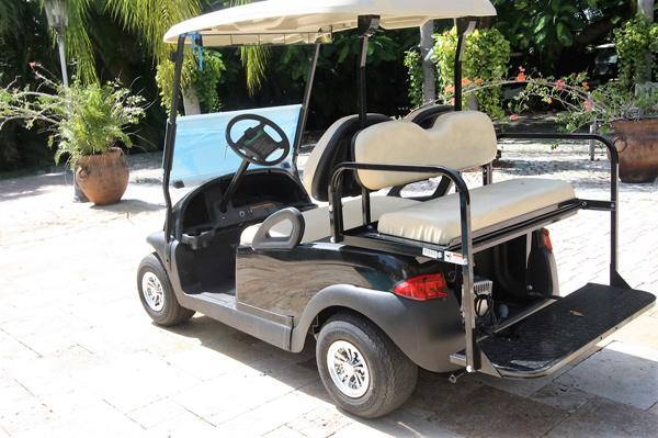 Club Car Precedent New Battery 2017 Black Bahamas