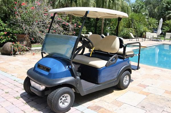 Club Car Precedent New Battery 2017 Blue Bahamas